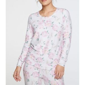 Chaser Floral Party Sweatshirt S-L NWT